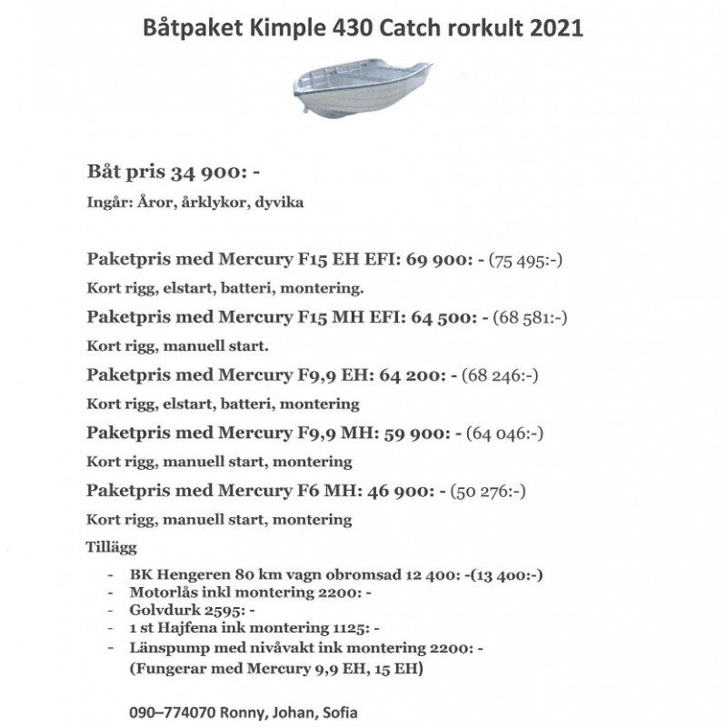 Kimple 430 Catch Rorkult 2021